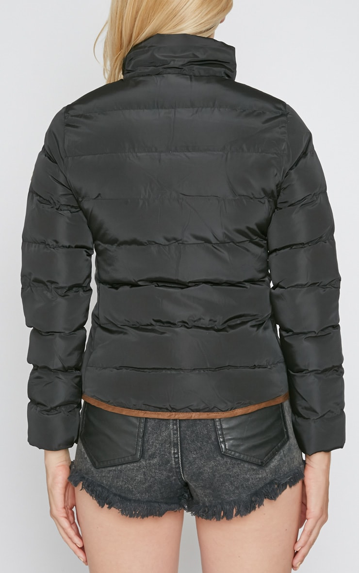 Jenny Black Quilted Jacket  2
