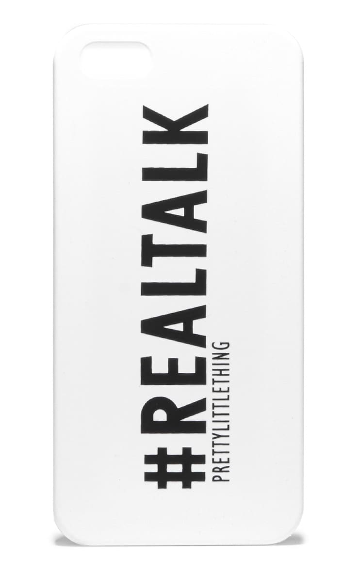 #RealTalk iPhone 5/5s Case 1