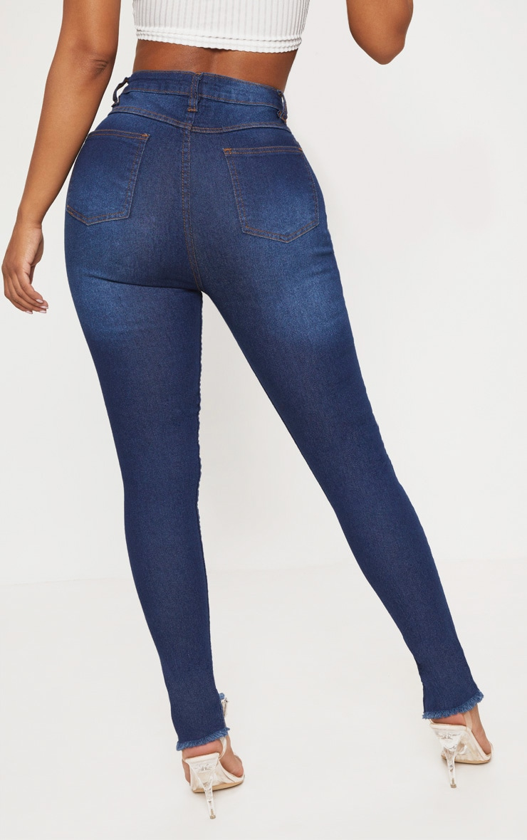 Shape Indigo High Waist Skinny Jeans 3