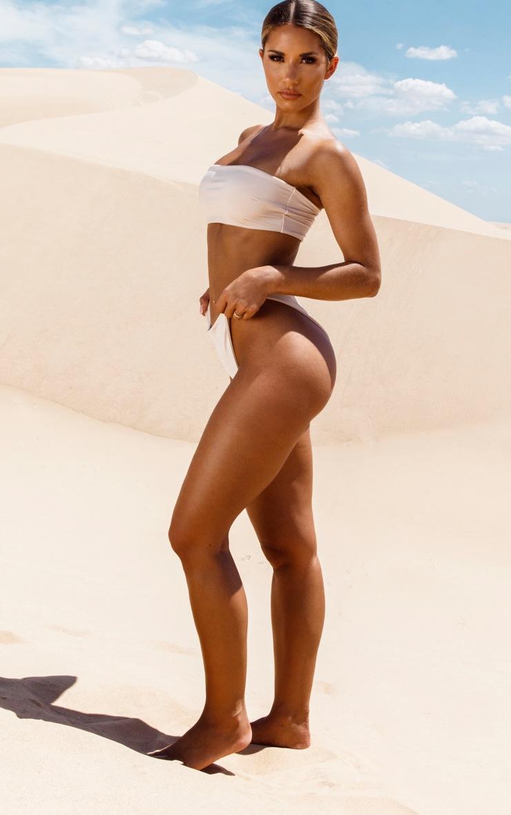 Nude High Rise Bikini Bottom 5
