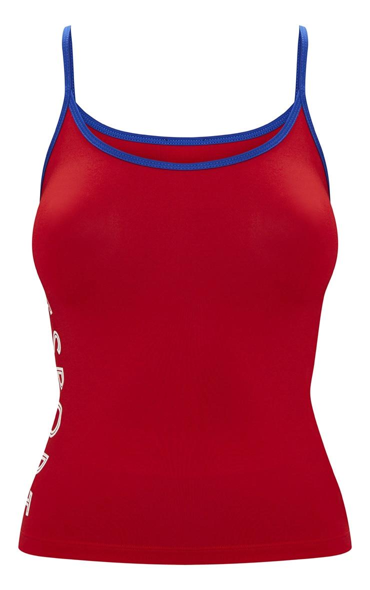 Red PLT Sports Vest 4