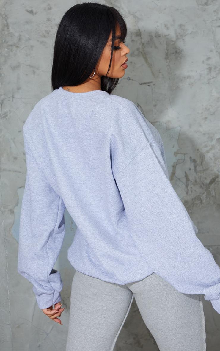 Grey Beverly Hills Printed Sweatshirt 2