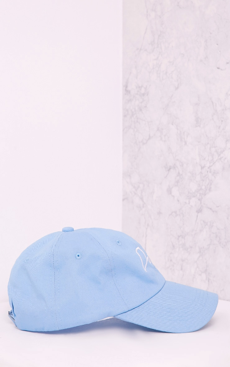 Dope Slogan Blue Baseball Cap 4