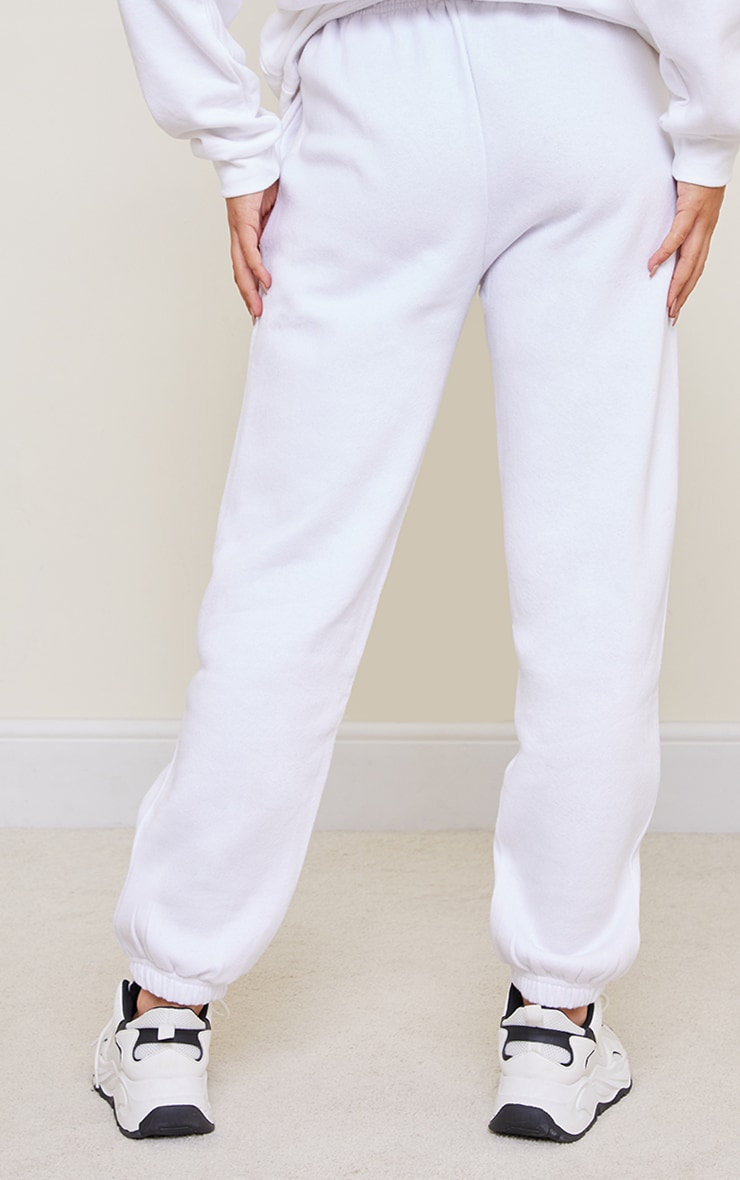 White Sweat Pant Joggers 3