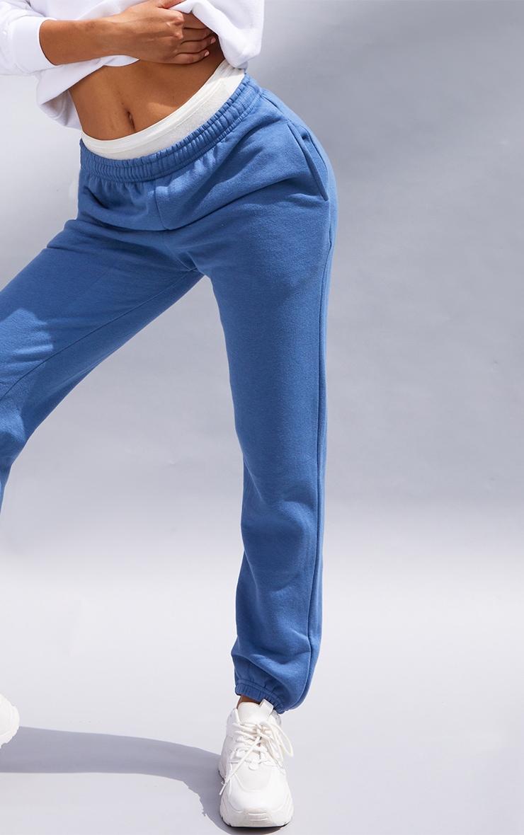 Jogging sweat bleu cendré 4