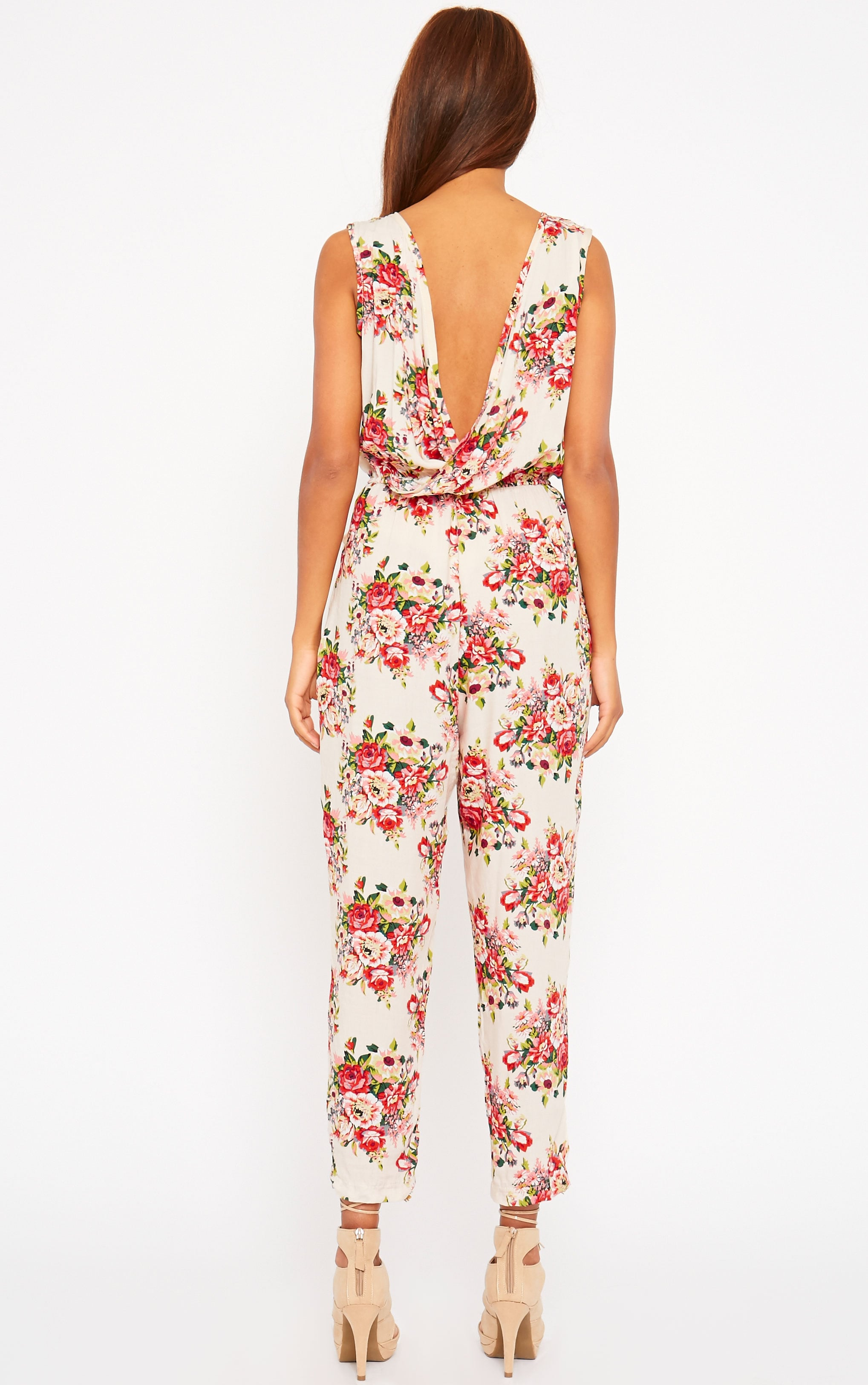 Bette Floral Print Jumpsuit 2