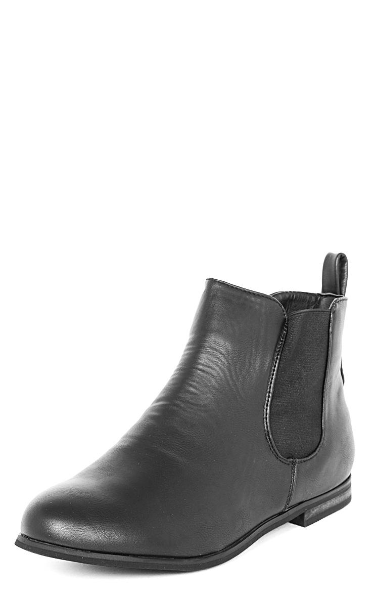 Samara Black Chelsea Boot 5
