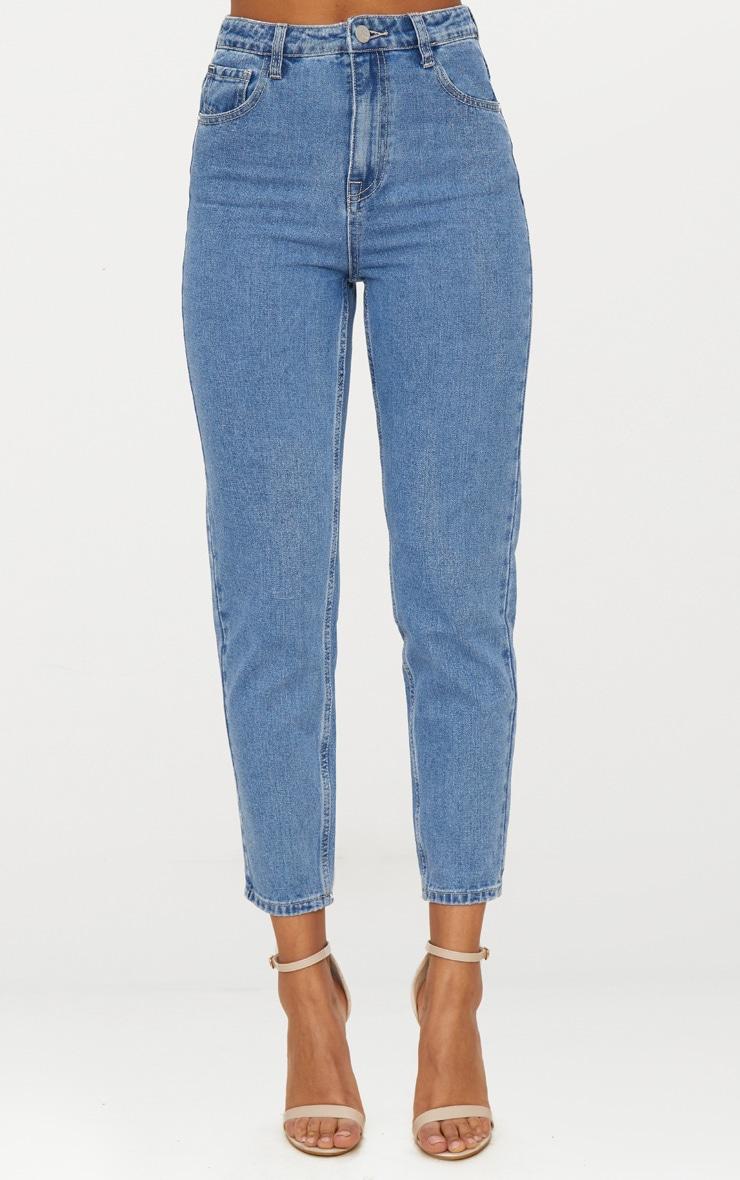 Straight Leg Mid Wash Jean image 4