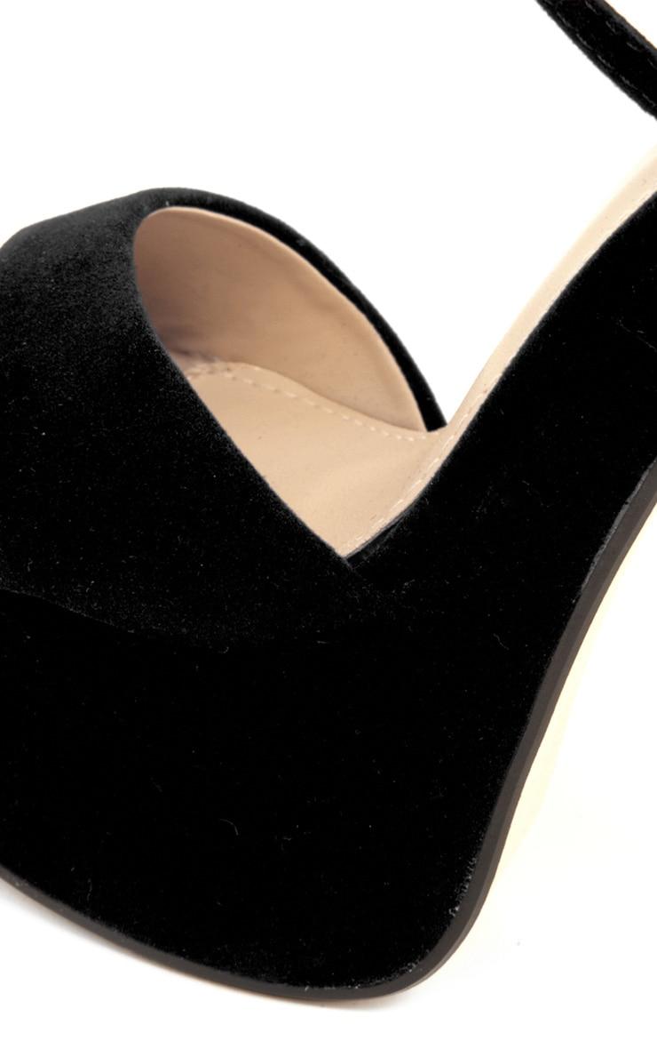 Tori Black Suedetter Heels 3
