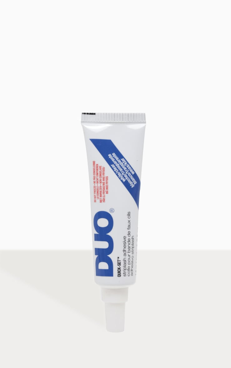 Duo Supersize Quickset Striplash Clear Eyelash Glue