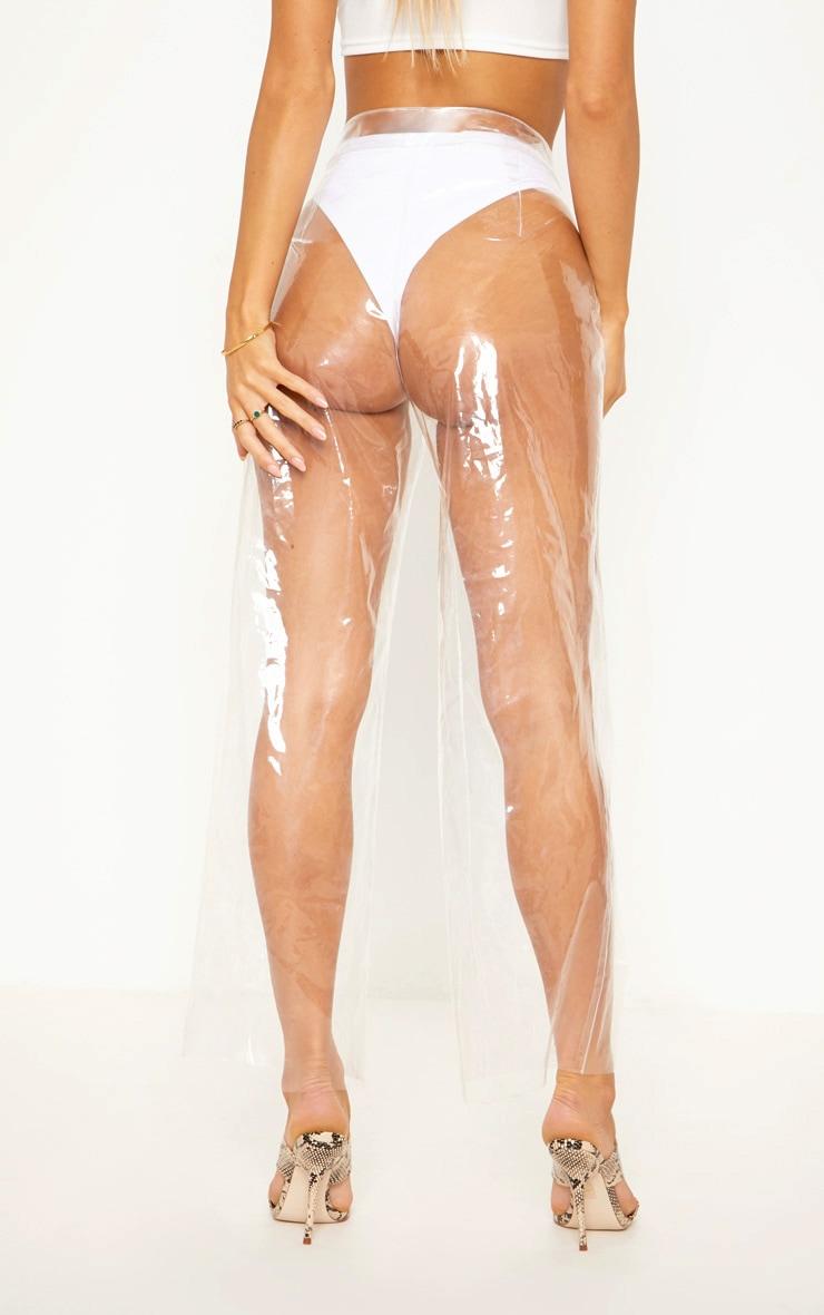 Transparent Zip Front Trouser 5