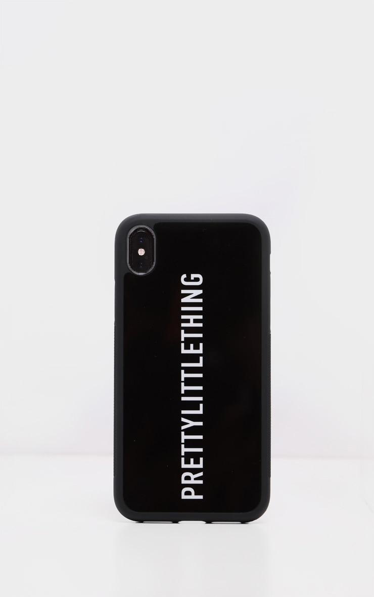 PRETTYLITTLETHING Black Logo 7 iPhone Case 2