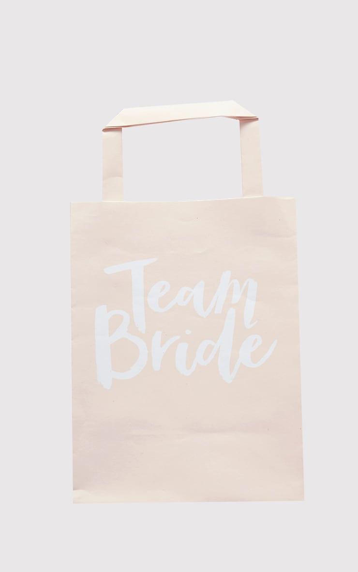 'Team Bride' Pink Party Bags 3