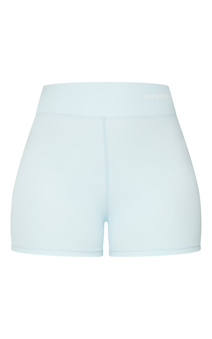 Baby Blue Sculpt Luxe Booty Shorts 6