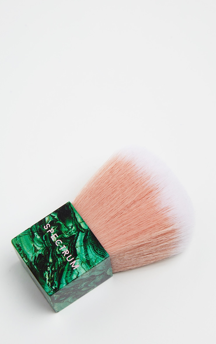 Spectrum Malachite Kabuki Brush 3