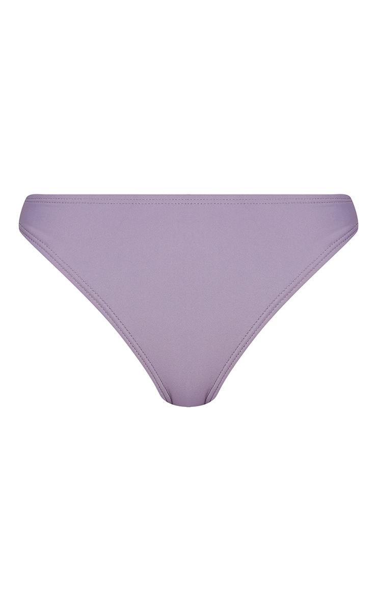 Aubergine Mix & Match Mini Front Bikini Bottoms 5