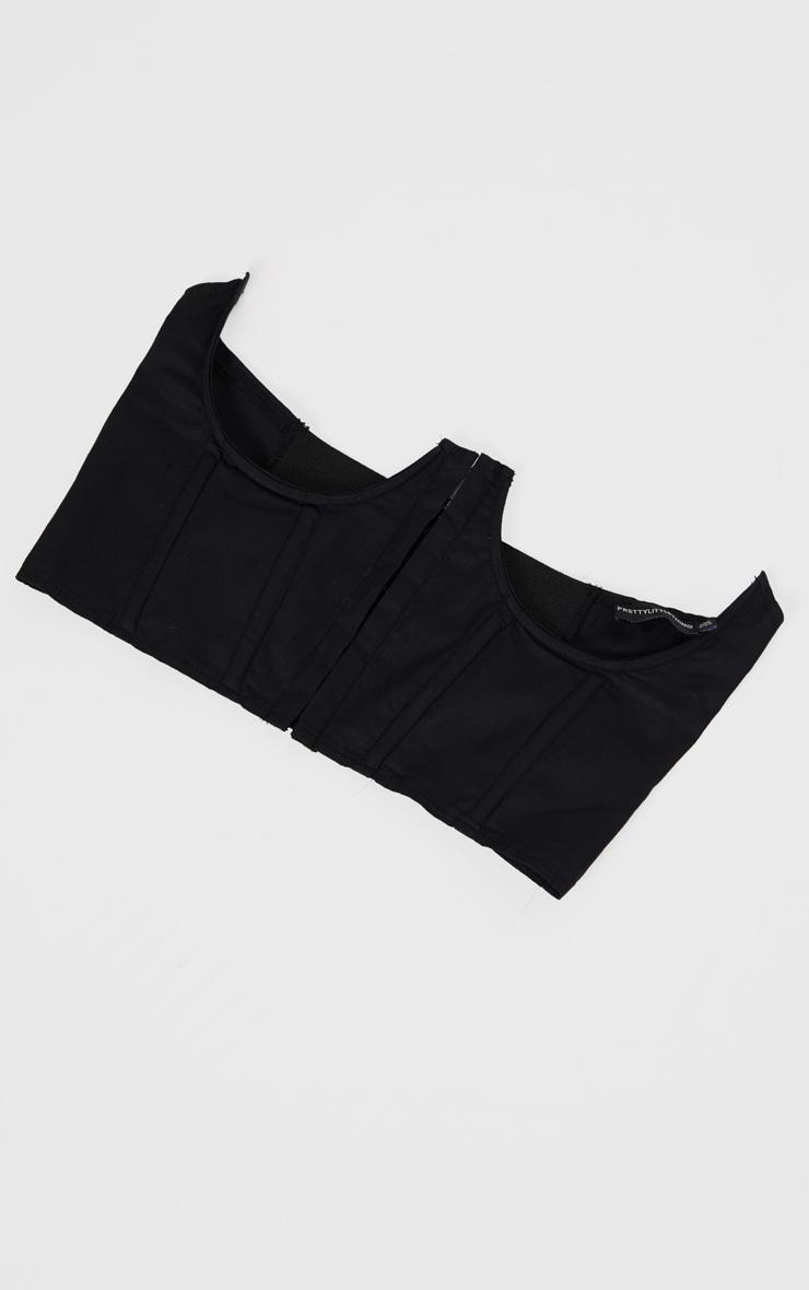 Black Under Bra Corset Belt 2