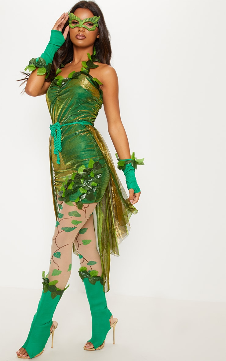 Green Poison Ivy Costume 4