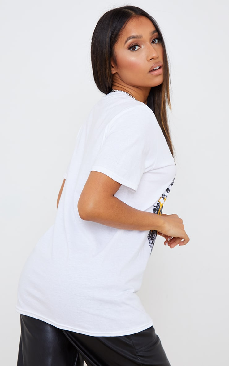 Petite White Low Rider T Shirt 2