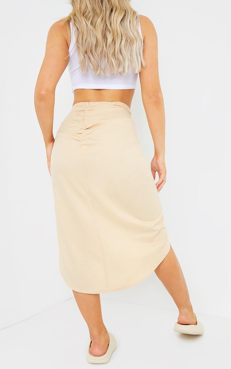 Stone Sarong Midi Skirt 3