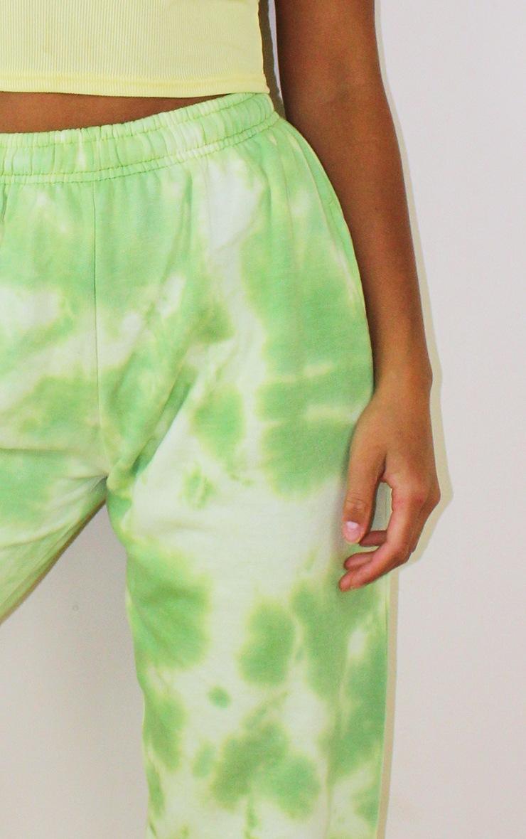 Petite Mint Tie Dye Acid Wash Jogger 4