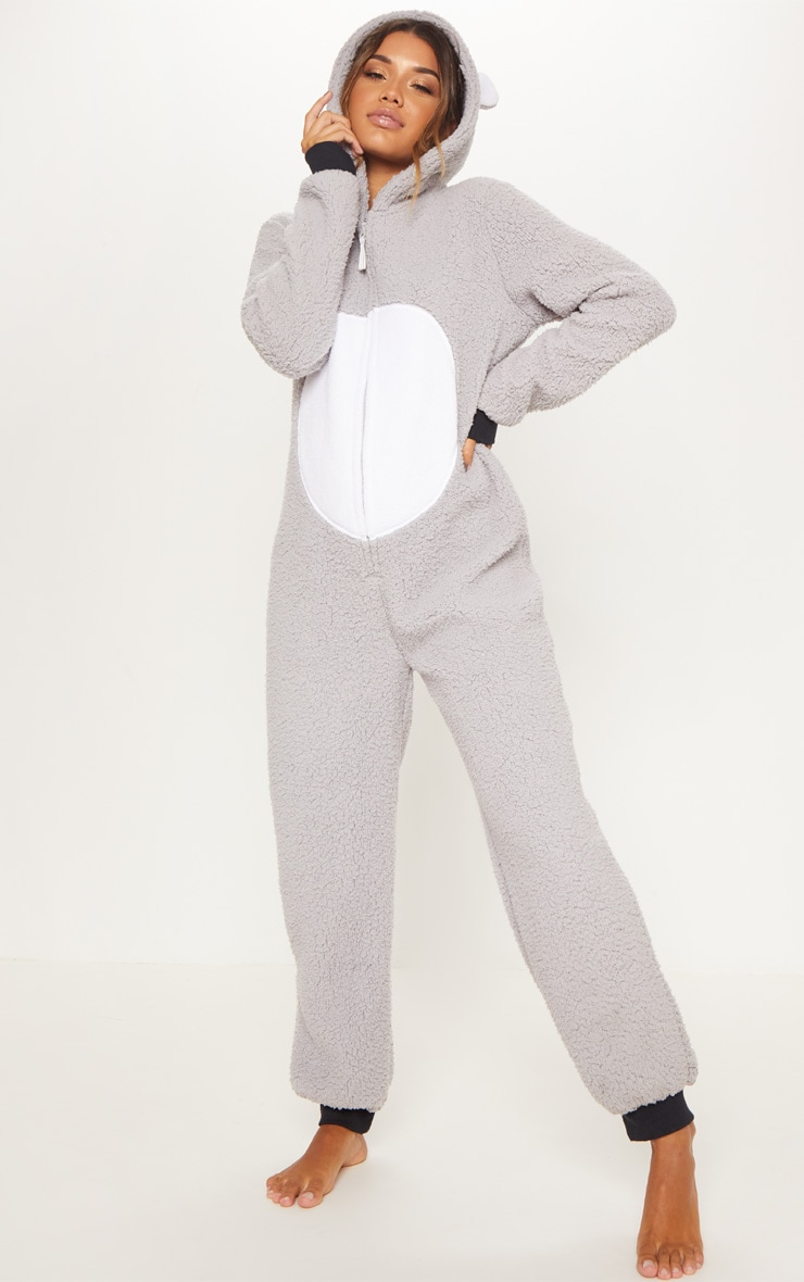 Koala Bear Grey Onesie 4