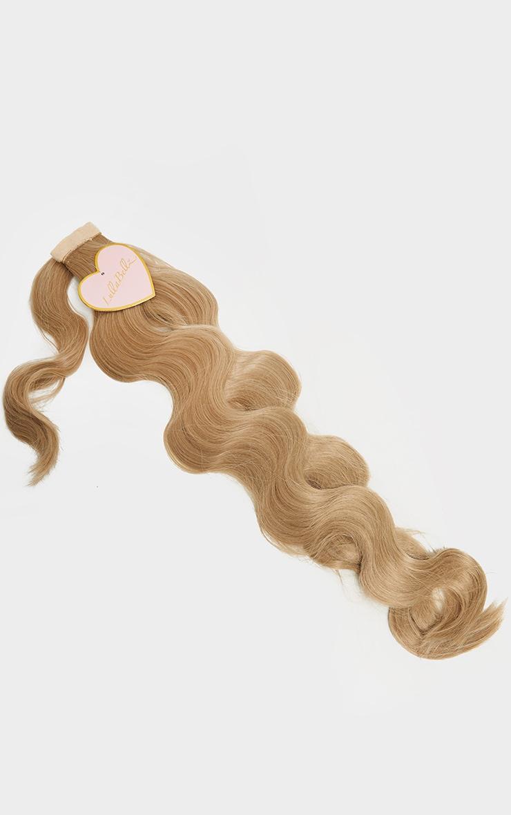 LullaBellz Grande Hollywood Wave 26 Wrap Around Pony California Blonde 2