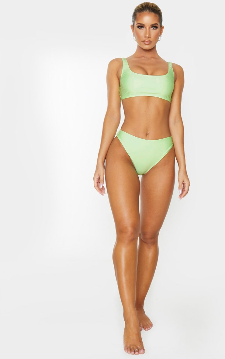 Mint Mix & Match Cheeky Bum Bikini Bottom 5