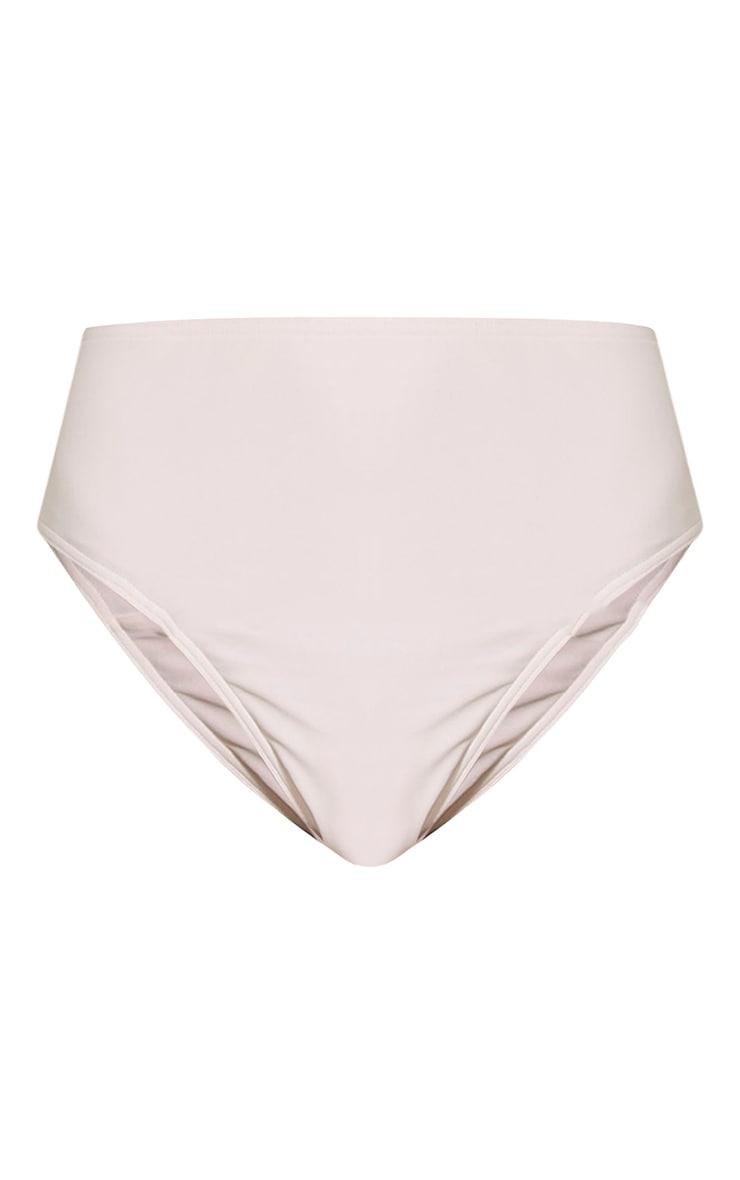 Lilianne White Mix & Match Sports Style Bikini Bottoms 3