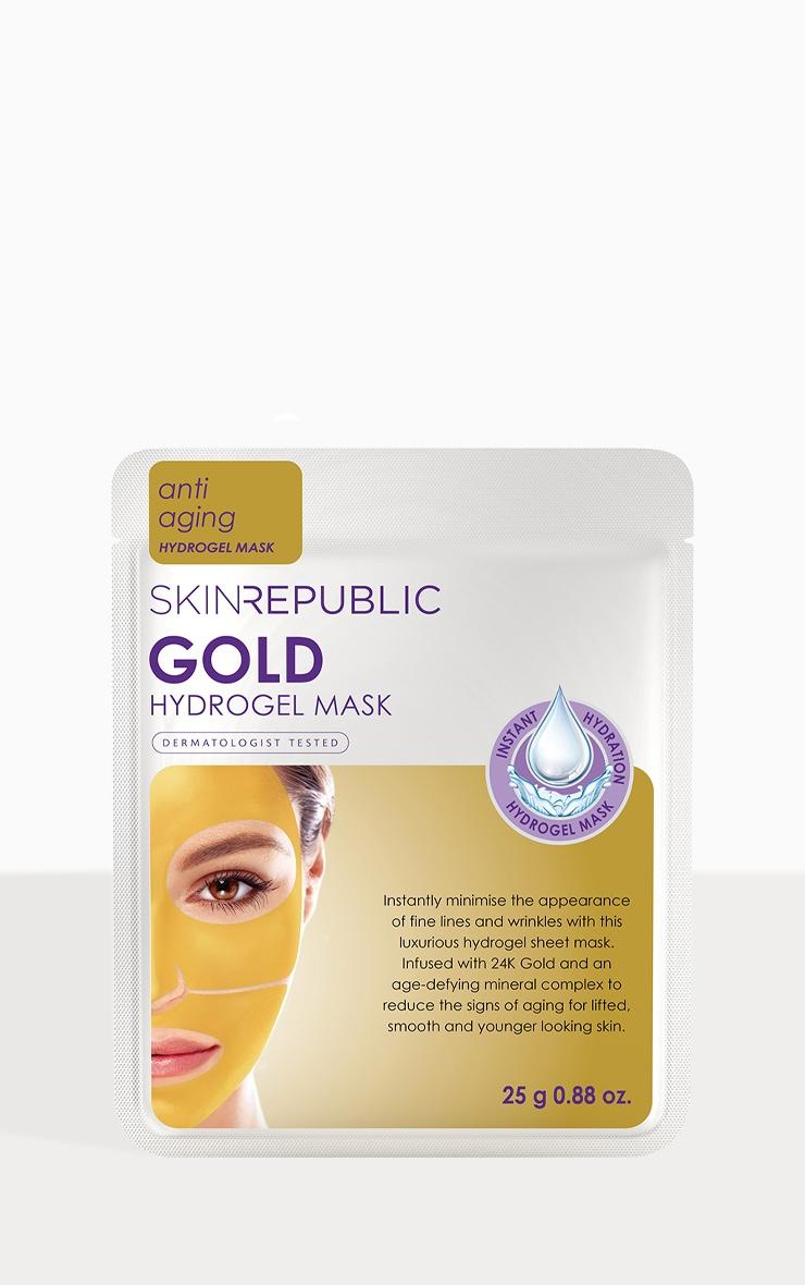 Skin Republic Gold Hydrogel Sheet Mask 1