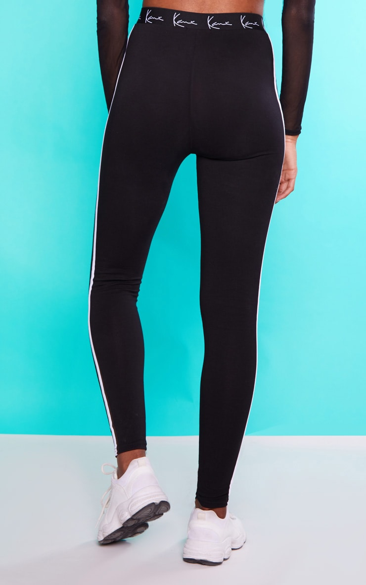 KARL KANI Black Leggings 5