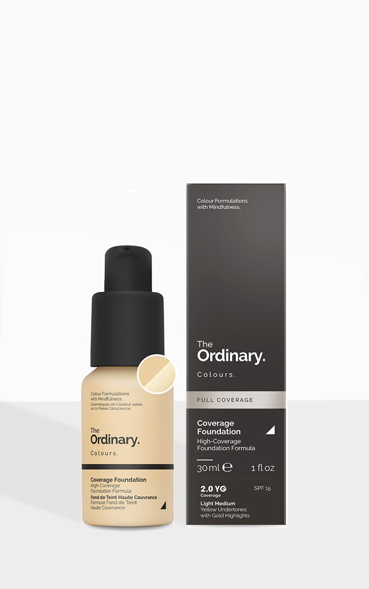 The Ordinary Coverage Foundation 2.0 YG SPF 1