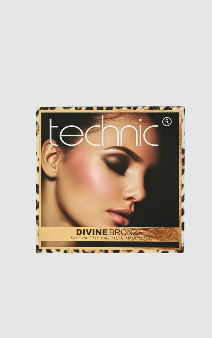 Technic Divine Bronze & Glow Palette 1