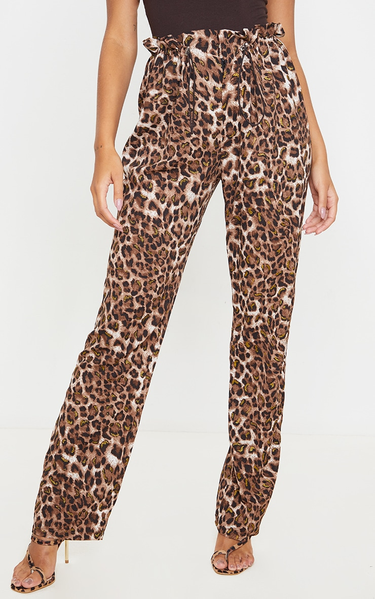 Tan Leopard Trousers 2