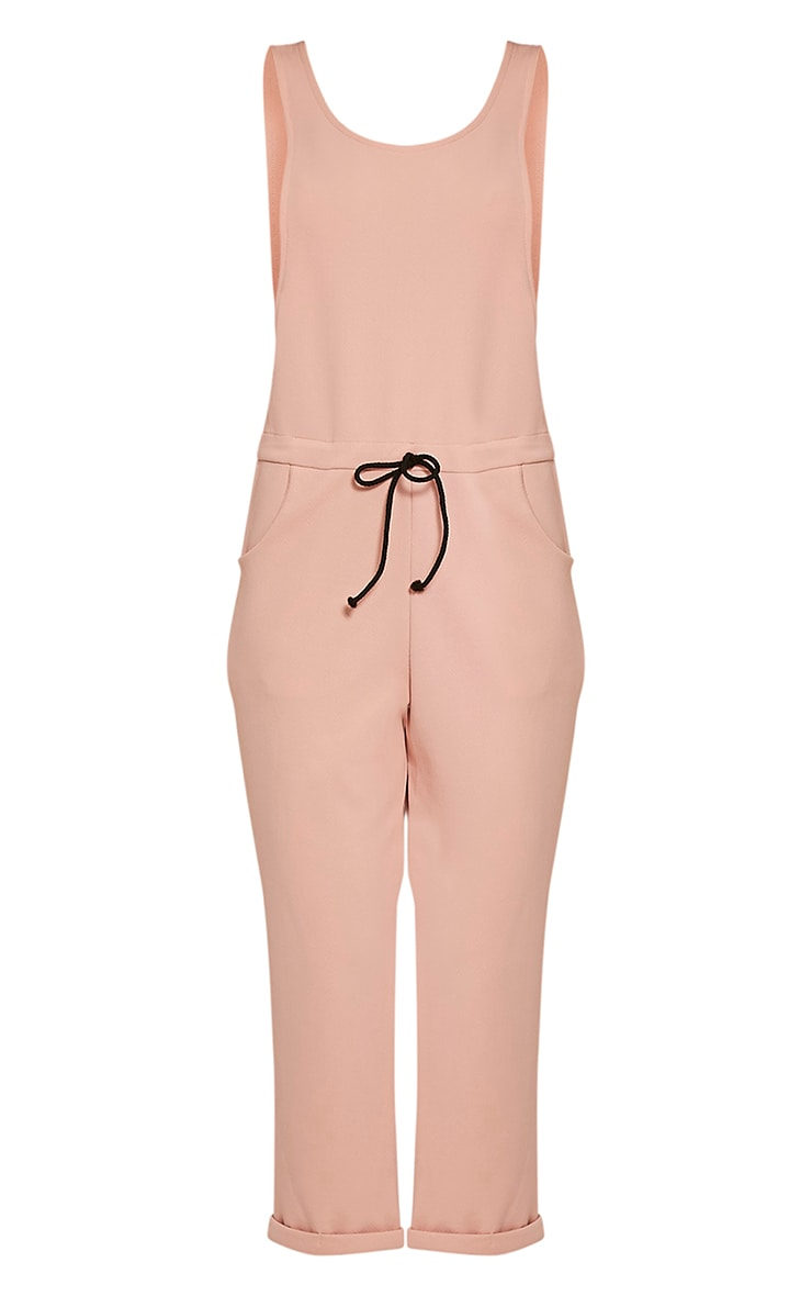 Shaya Nude Loose Fit Jumpsuit 3