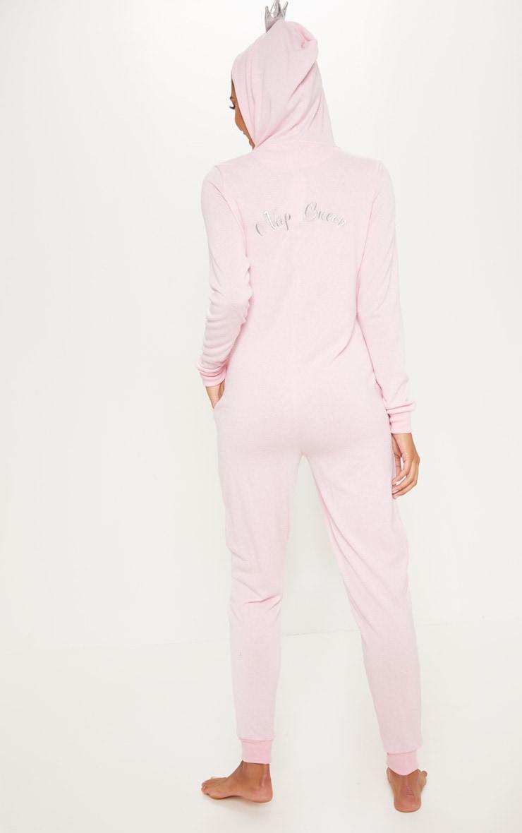 Pink Nap Queen Onesie 2