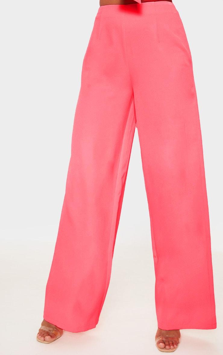 Coral Wide Leg Pants 2