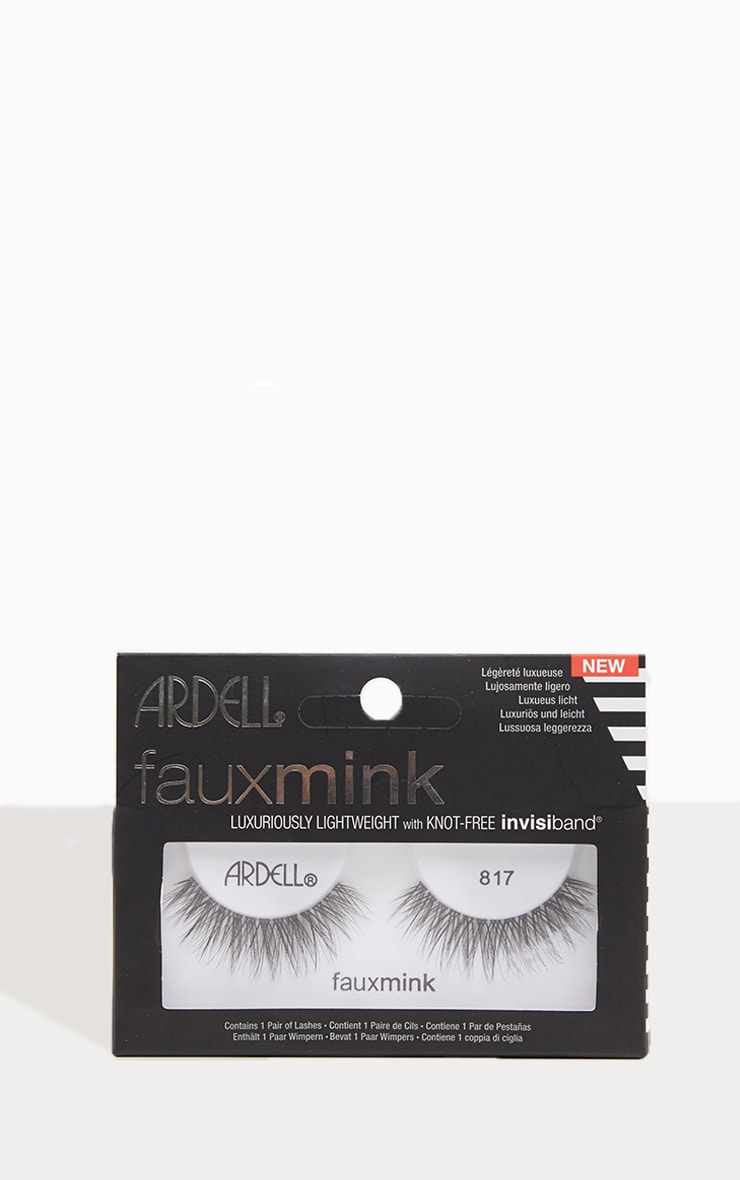 Ardell Lashes Faux Mink 817 1