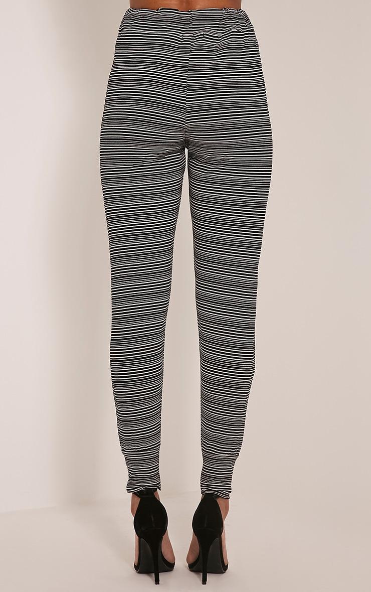 Tamia Black Stripe Joggers 5