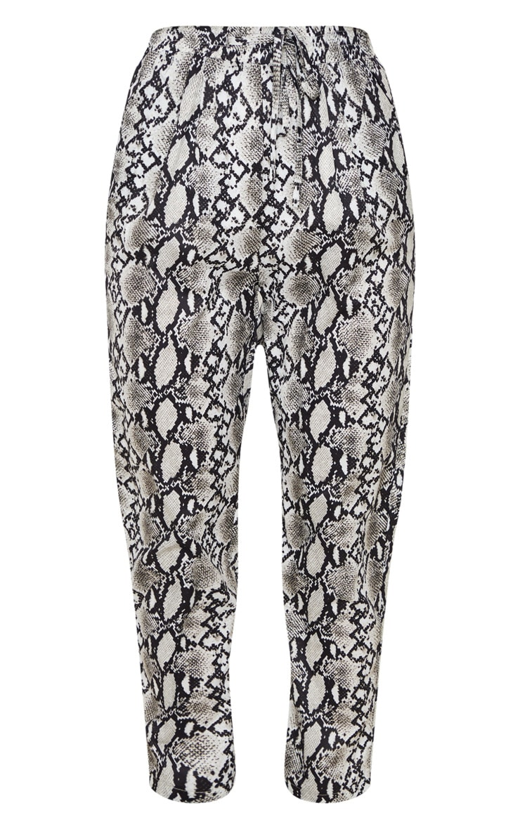 White Snake Casual Pants 3