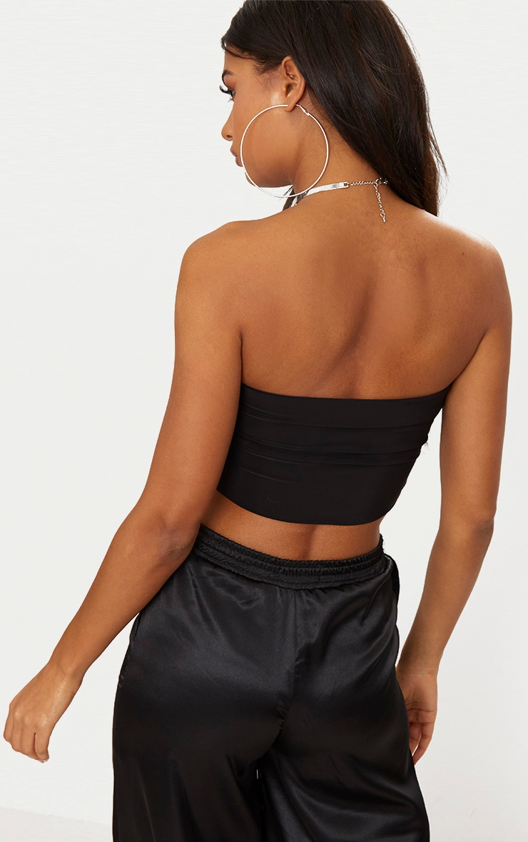 Black & Spice 2 Pack Slinky Bandeau Crop Top 2
