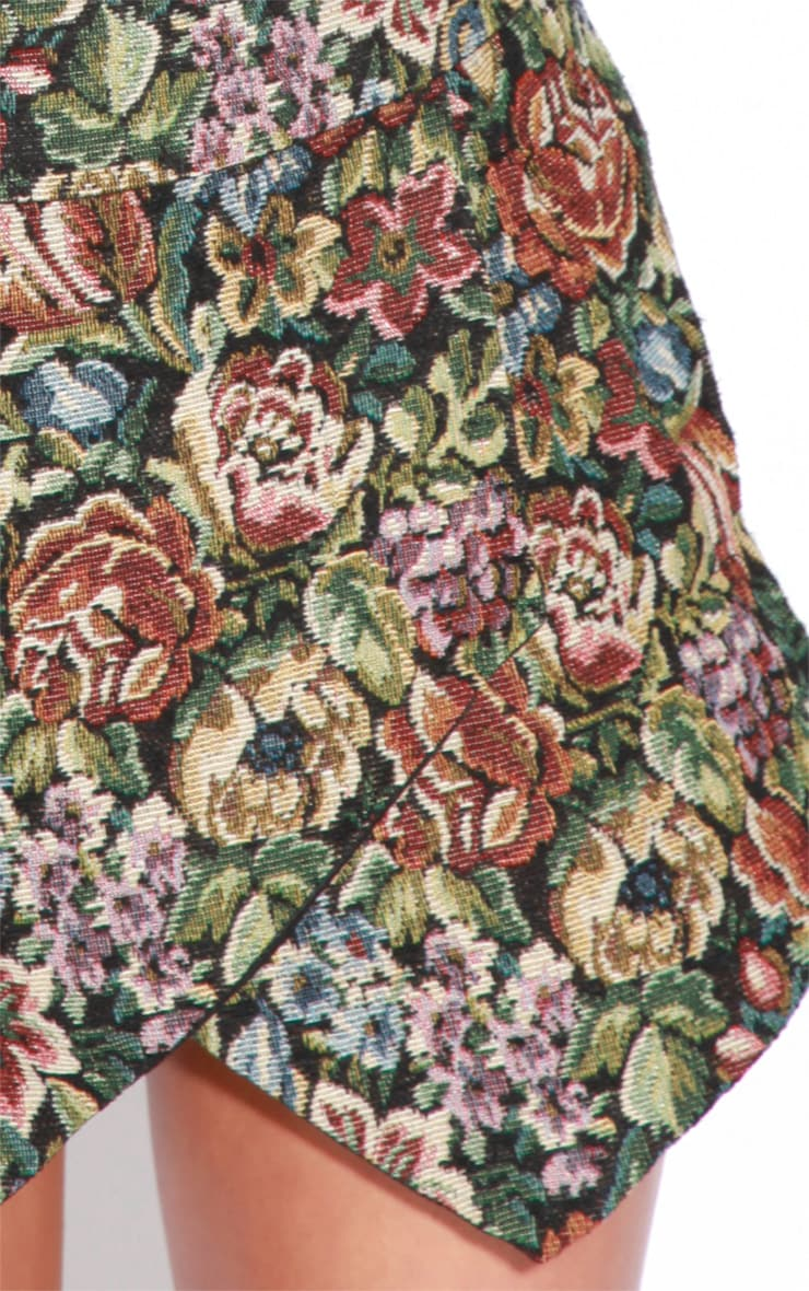 Sienna Floral Embroided Skort  3