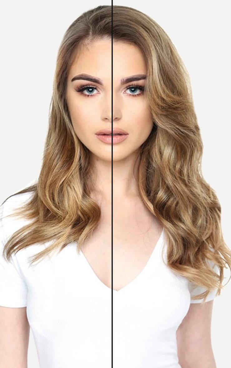 Beauty Works Double Hair Set Weft 18 Inch Mocha Melt 50 Grams 4