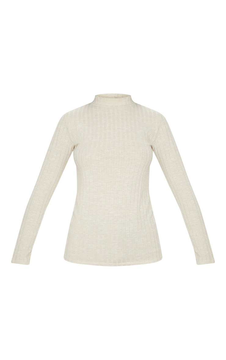 Stone Long Sleeve High Neck Top 3