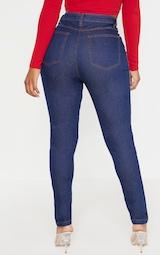 Shape Dark Indigo High Waist Skinny Jeans 4