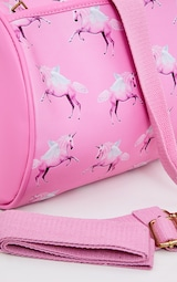 PRETTYLITTLETHING Unicorn Pink Gym Bag 6