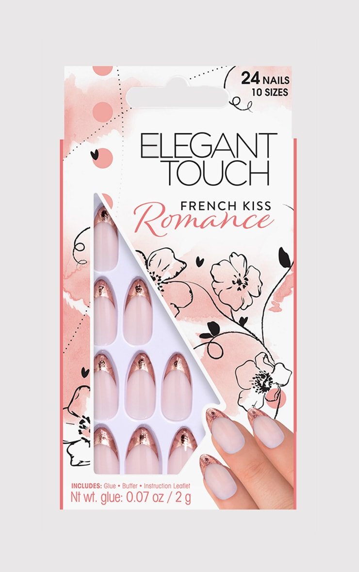 Elegant Touch French Kiss False Nails 1