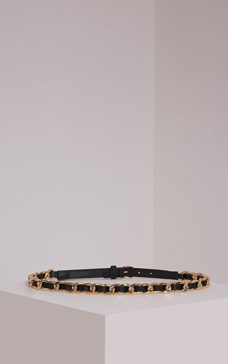 Lella Gold Chain Twisted Belt 3