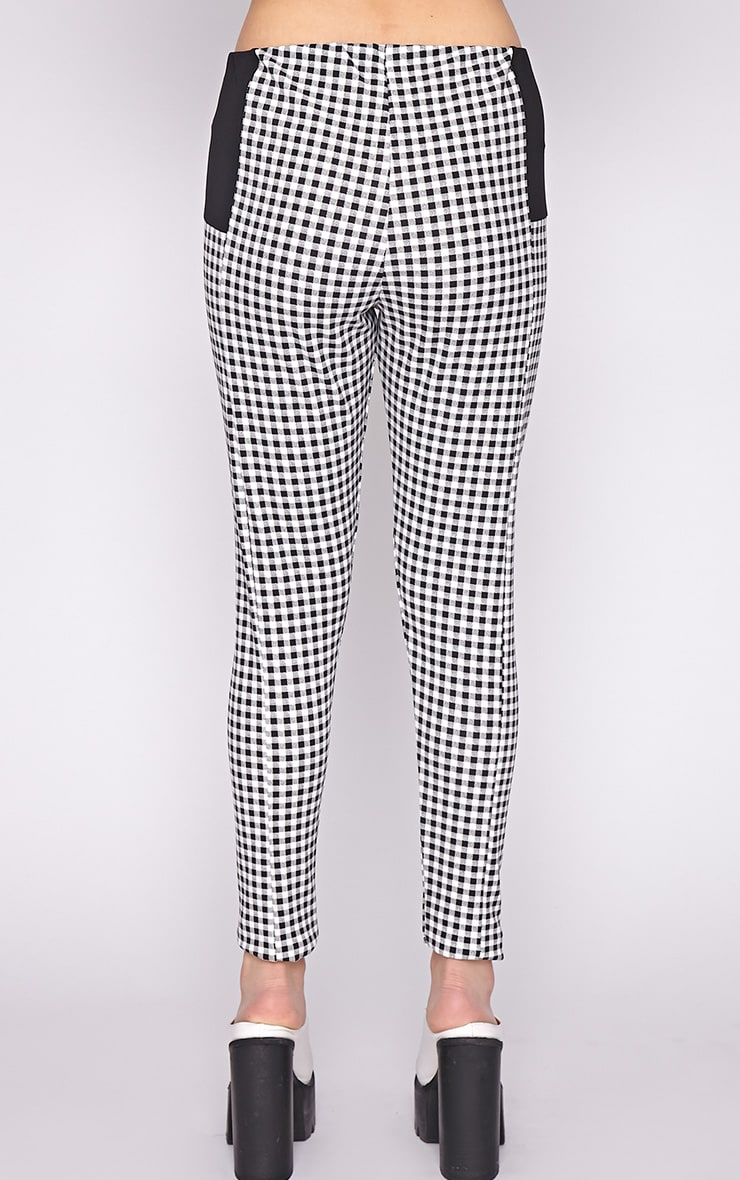 Luana Monochrome Gingham Legging 4