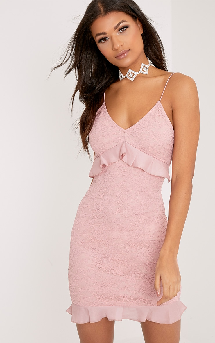 Dress feather bodycon pink dusty skirt size montreal instagram